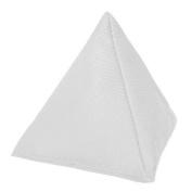 White Cotton Fabric Triangular Juggling Bean Bag Garden Games PE Sports