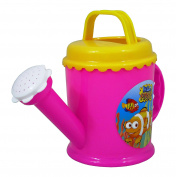 High Quality Hello Fishy Children Kids Toy Plastic Watering Can in Pink