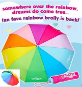 Smiggle rainbow brolly umbrella