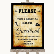 Western Wedding Sign Collection Western Take A Moment To Sign Our Guest Book Wedding Sign