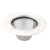 Kitchen Bathroom Basin Waste Strainer Filter Drain Hair Blocker 73mm Top Dia