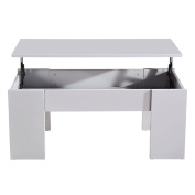 Coffee Table Liftable Grey
