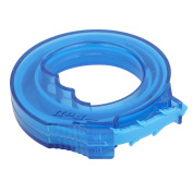 Unique Bargains 43cm HDPE Drain Snake Hair Drain Clog Remover Cleaning Tool Blue