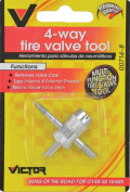 Monkey Grip M8835 4-Way Valve Tool