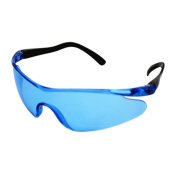 1Pc Plastic Durable Toy Gun Glasses for Nerf Gun Accessories Protect Eyes Outdoor Children Kids Toys Blue