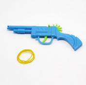 3pcs/set Toy Guns Plastic ABS Toy Rubber Band Bullet Guns Weapon Pistol Toys Guns