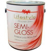 Majic Lifestyle Designer 8-1850 House Paint, 3.8lCan, 28sqm/gal, High Hiding White