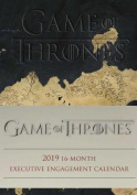 Game of Thrones 2019 16-Month Executive Engagement Calendar