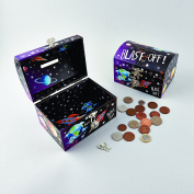 Lockable Rocket Money Box