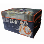 Star Wars BB8 Mini Kids Collapsible Space Saver Organiser Storage Trunk, Ideal for Storing Toys, Books, Games, Clothes and More! Great Gift For Kids