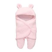 For Baby Sleeping Bag/Sleeping Wrap Blanket,Y56 New Universal Baby Cute Newborn Infant Baby Boy Girl Swaddle Baby Sleeping Wrap Blanket Photography Prop 1-12 Months,55*29cm/21.6*11.4inch