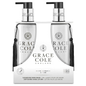 White Nectarine & Pear 300ml Hand Care Duo by Grace Cole