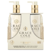 Nectarine Blossom & Grapefruit 300ml Hand Care Duo by Grace Cole