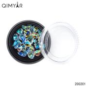 Colourful Rhombus Flat Back Rhinestones Flatback acrylic Gems for Nail Art