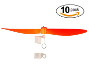 15cm Plastic Propeller with Craft Stick Mount and Rubber Band Hooks