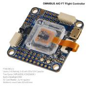 OMNIBUS AIO F7 V2 Flight Controller Integrated OSD