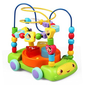 KONIG KIDS 3 In 1 Musical Toys Car, 13+ Action & Music For Baby 18 Months +