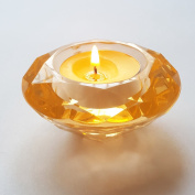 ElE & GANT 6Pcs Acrylic Diamond Tealight Candles Holders or Tealight Candles Stands