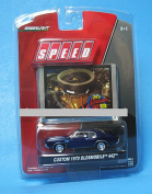 Greenlight Collectibles Speed My Classic Car 1:64 Scale Series 2 - Custom 1970 Oldsmobile 442 Plus Bonus Trading Card
