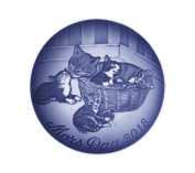 Bing & Grondahl 1024801 Mother's Day Plate 2018