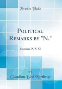 Political Remarks by N.