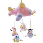 SHILOH Baby Newborn Crib Mobile Plush Canopy Toys without musical box or arm-B