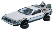 Aoshima Models Delorean from Back to the Future II Building Kit