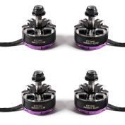4pcs Gemfan GT2205 2650KV Brushless Motor 2-4S 2CW 2CCW RC Brushless Motor for FPV Racing Quadcopter Drone QAV-X QAV-H 210 220 230 Frame etc