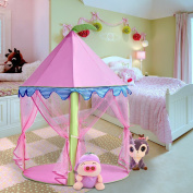 Moombike Princess Castle Pretend Play Tent Toy for Girls Indoor and Outdoor Toy Playhouse for Kids
