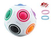 Rainbow Ball Magic Fidget toy puzzle Magic Rainbow ball puzzle Fun fidget …