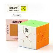 Aoile Redi Magic cube Oskar Redi 3x3 Puzzle Cube Stickerless for Professional Players Lovers