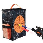 Target Pouch Storage Carry Equipment Bag for Nerf Guns Darts N-strike Elite / Mega / Rival Series