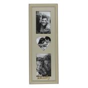 Juliana Wooden Triple Photo Frame - Family