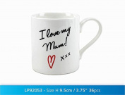 I Love My Mum Oxford Mug