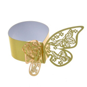 Napkin Rings Paper FORM OF BUTTERFLY 50 U.