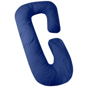 Love2Sleep C PILLOW COVER C PILLOWCASE C SHAPED PILLOW COVER/ CUDDLE PILLOW COVER – NAVY BLUE