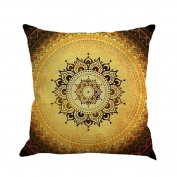 TIREOW Bohemian Geometry Painting Linen Cushion Cover Throw Pillow Case Sofa Home Decor