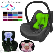 Little Sweetz Multi Support Cosy Soft Maxi/Relaxing Seat Liner * * * BABY PILLOW WITH Recess for Pram/Pushchair e.g. Maxi Cosi/Römer King, cots, Nursing Cushion)