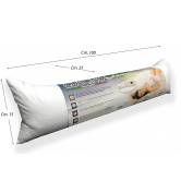 Cylindrical Pillow Soft Pregnancy cm Long. 100