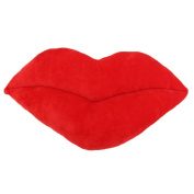 Lecimo Red Rose Decorative Arts Lips New Comfortable Sexy Pillow Chair Cushion