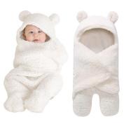 HUHU833 Newborn Infant Baby Boy Girl Swaddle Baby Sleeping Wrap Blanket Photography Prop