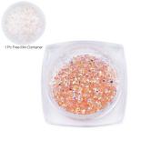 1440Pcs Micro Diamond DIY Nails Rhinestones Crystal Flat Back Mini Rhinestones Need Glue Nail Art Decoration