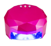 MINFAN LED Nail Lamp Infrared Automatic Sensing 12W CCFL lamp +36w LED light Bead Non-slip Foot Mat Magnets Removable Bottom