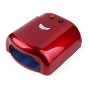 MINFAN 36W UV LED Nail Lamp Removable Type Backplane Design Tray for easy Cleaning Eco-Friendly Suitable for all skin