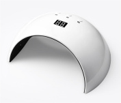 MINFAN 24W UV LED Nail Lamp 30S/60S/99S Timer Setting Auto-sensing by Infrared Induction For Fingernail & Toenail Gels