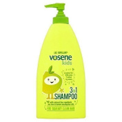TWELVE PACKS of Vosene Kids 3in1 Shampoo Lice Repellent 400ml
