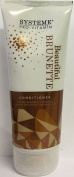 THREE PACKS of Systeme Beautiful Brunette Conditioner 200ml