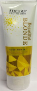 THREE PACKS of Systeme Beautiful Blonde Conditioner 200ml
