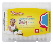 MAXIM - Organic Cotton Baby Swabs - 50 Swabs
