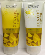 Systeme Beautiful Blonde Shampoo 200ml and Conditioner 200ml